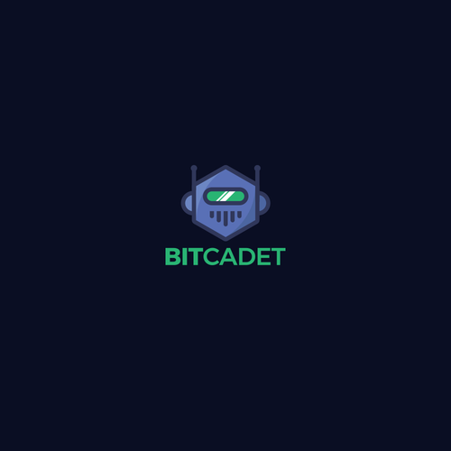 Machine logo with the title 'BitCadet'