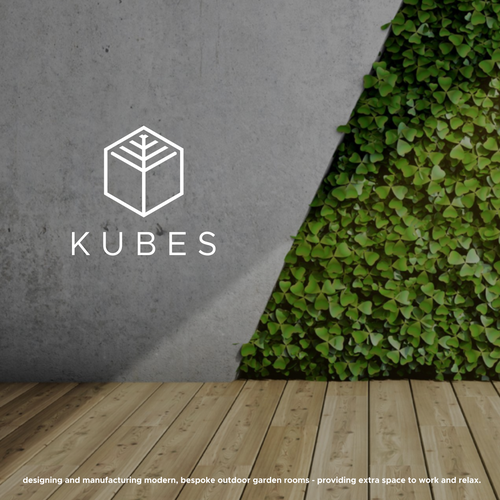 Modern design with the title 'KUBES'