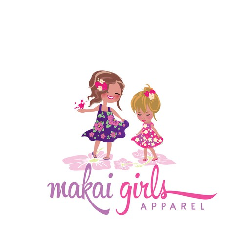 Style logo with the title 'Hawaaian Dresses for Girls Logo'