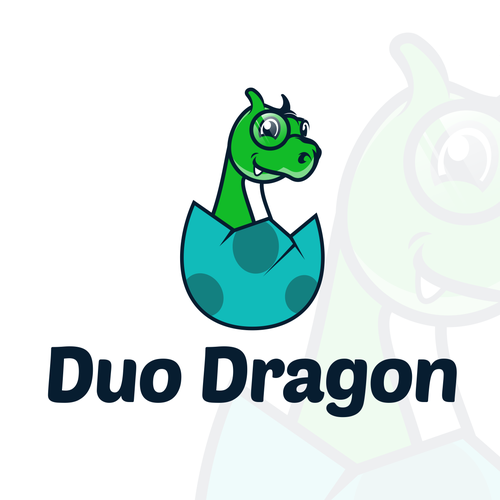 Hatch logo with the title 'Winning Logo Design for Duo Dragon'