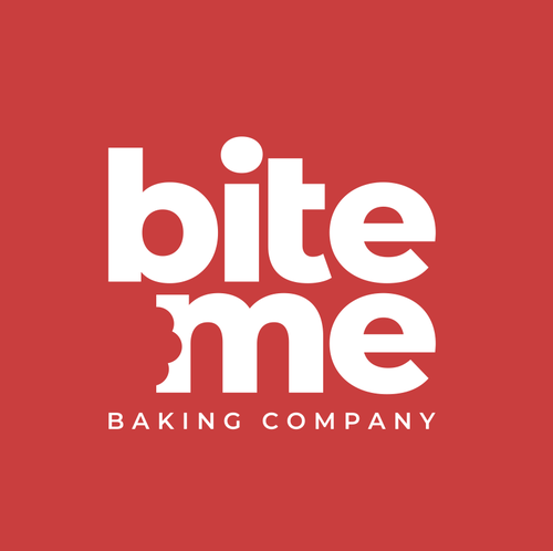 Baking design with the title 'Bite Me Baking Company'