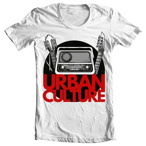 Urban t-shirt with the title 'Urban Culture'