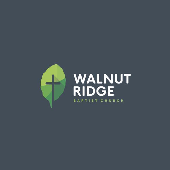 Baptist logo with the title 'Logo for Walnut Ridge Baptist Church'