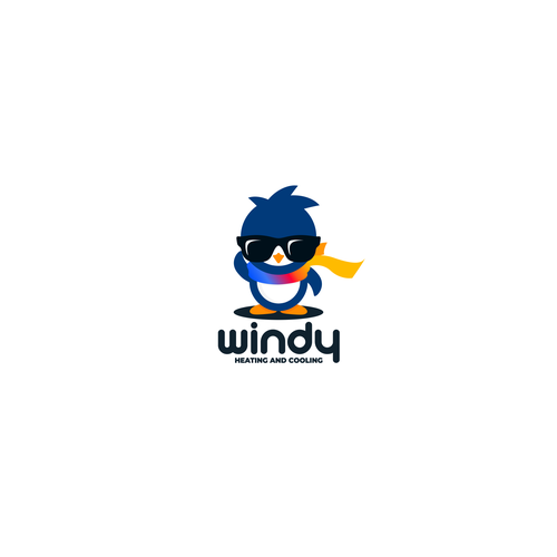 Cool design with the title 'Penguin'