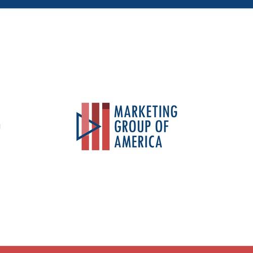 Progress logo with the title 'Marketing logo'
