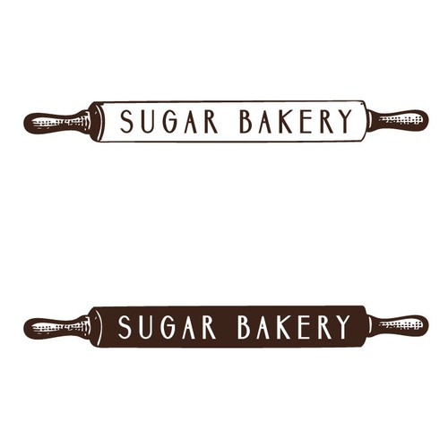 Sugar design with the title 'Logo for Sugar Bakery'