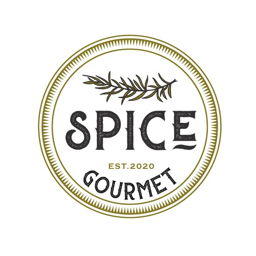 Mature design with the title 'Spice gourmet'