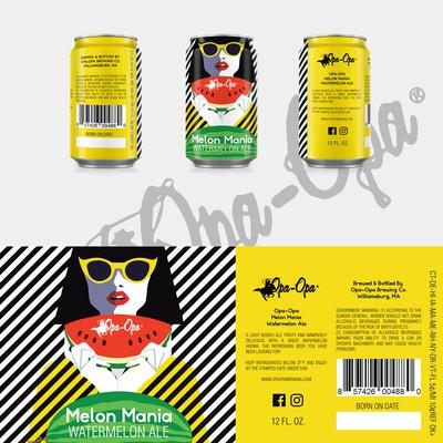Opa-Opa Beer Label