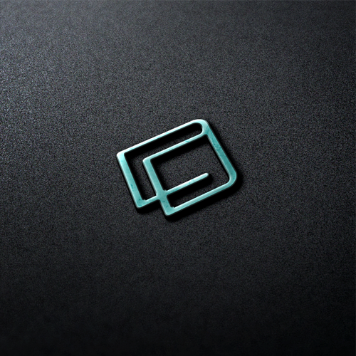 Wallet logo with the title 'Abstract Wallet Logo'