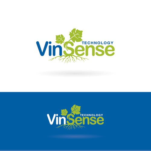 "Grape logo with the title 'high technology and tradition for ""VinSense""'"