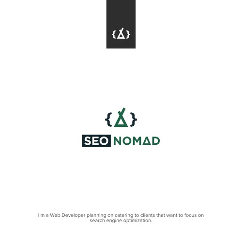 Nomad logo with the title 'SEO NOMAD'