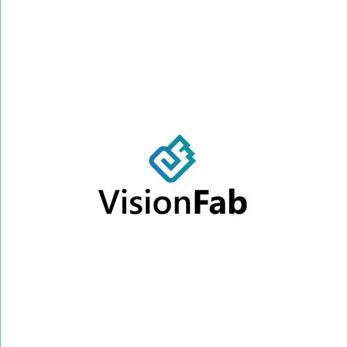 Task design with the title 'VisionFab Logo Design'