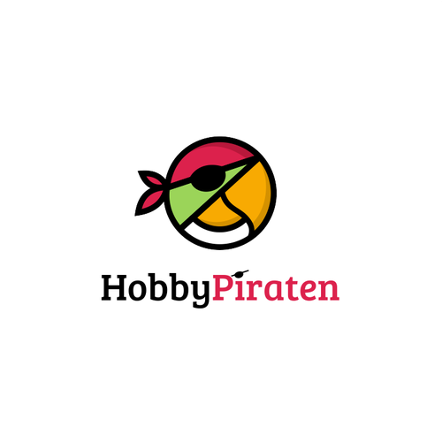 Parrot design with the title 'Logo for a website that is the focal point to bring together children seeking hobby'