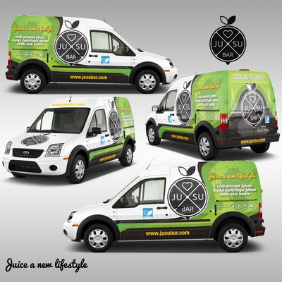 Jusu Bar Delivery and Event Transit Van