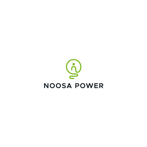 Winner logo with the title 'Logo for NOOSA POWER'