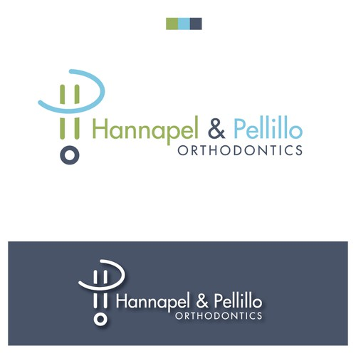 Orthodontist logo with the title 'Playfull concept for Orthodontics logo'