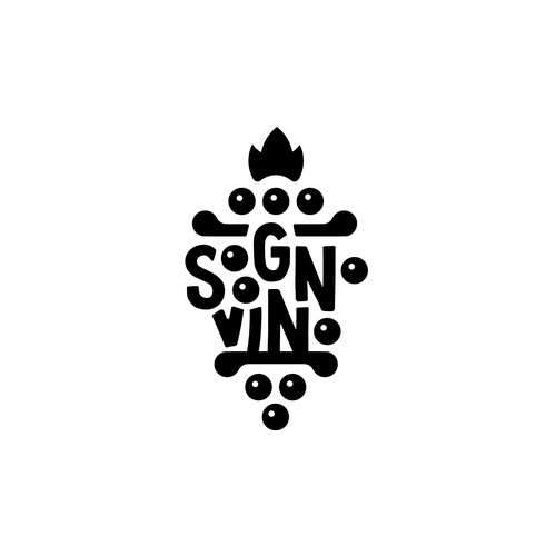 Vino design with the title 'Sogno vino'