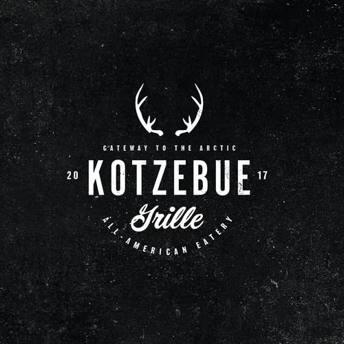 Chicken grill logo with the title 'KOTZEBUE'