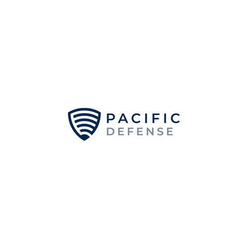 Signal logo with the title 'Logo Design for Pacific Defense'