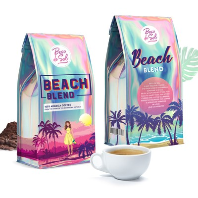 Holographic Coffee packaging design