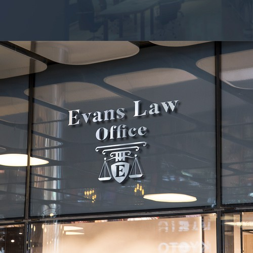 Roman logo with the title 'Logo for a lawyer.'
