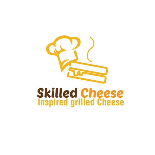 Skills logo with the title 'Skilled Cheese Logo'
