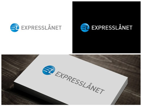 Speed logo with the title 'Create a winning logo design for EXPRESSLÅNET'