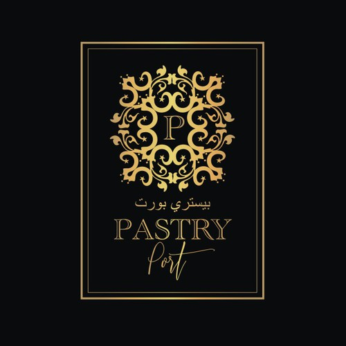 Food brand with the title 'PASTRY PORT'