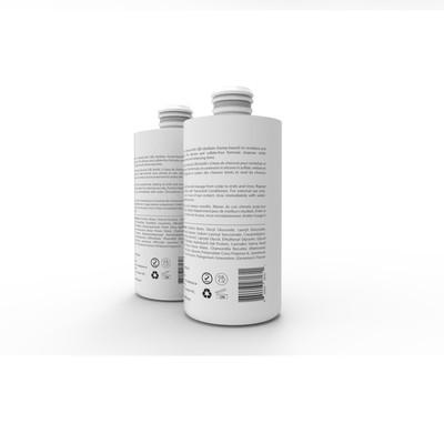 design shampoo & conditioner bottles