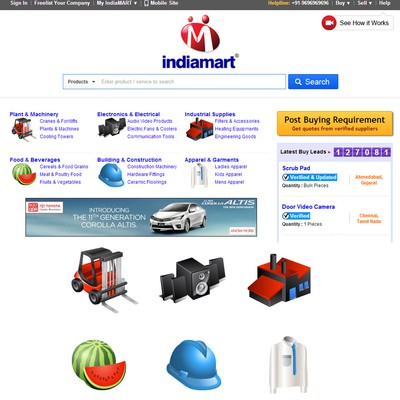 Stunning Icon set for World's No. 2 & India's No. 1 B2B Marketplace