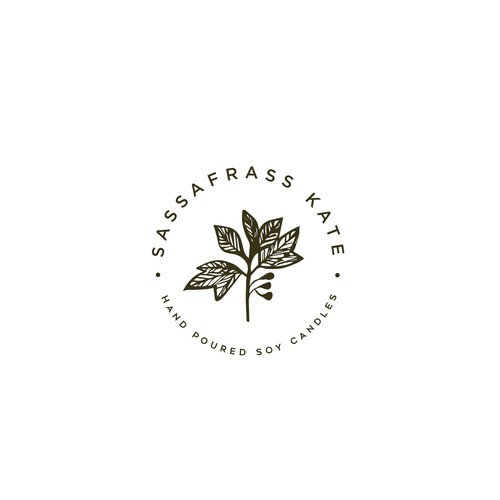 Retail logo with the title 'Sassafrass Kate'