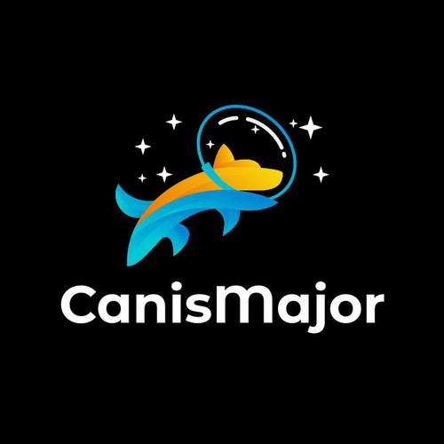 Spaceship logo with the title 'Canis Major'