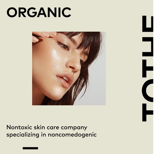 Skincare brand with the title 'TOTHE. brand identity'
