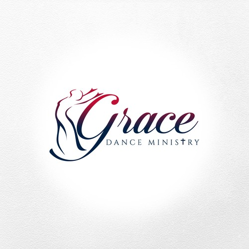Dance school logo with the title 'Grace Dance MInistry'