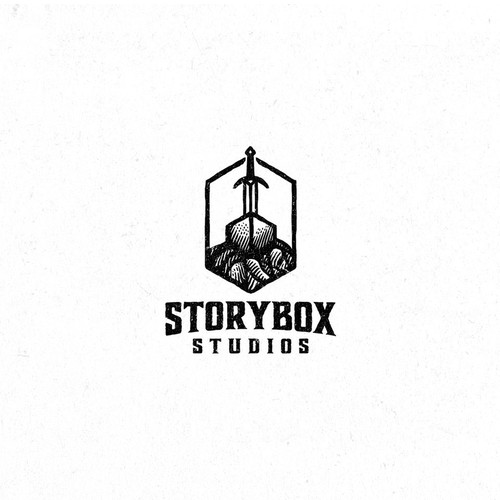 Box design with the title 'Storybox Studios'