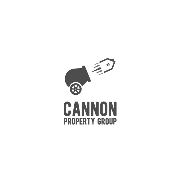 Artillery logo with the title 'Cannon property group'
