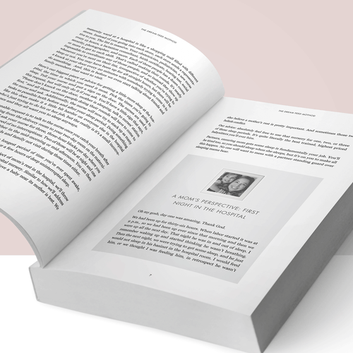 Paperback design with the title 'Book Interior - Indie/Memoir'