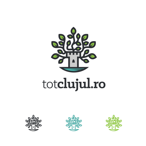 Tree brand with the title ' TotClujul.ro logo'