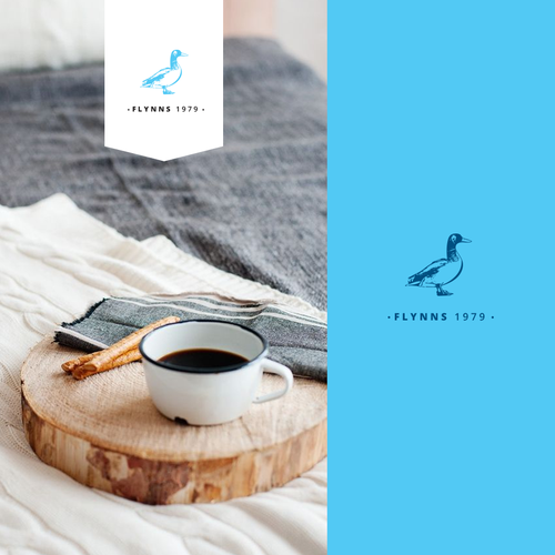 Bluebird logo with the title 'boutique bed & breakfast'