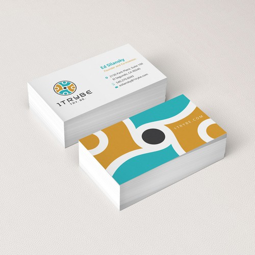 Community design with the title 'Clean Business Cards'