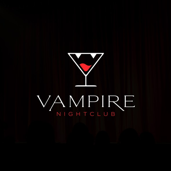 Vampire design with the title 'Vampire Nightclub'