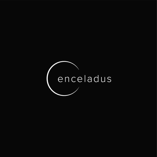 Orbit logo with the title 'Logo Concept | Enceladus'