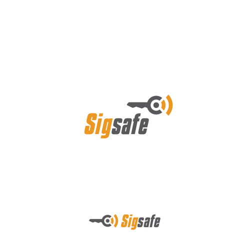 Beacon logo with the title 'Logo needed for Sigsafe - protecting the keys to your digital life!'