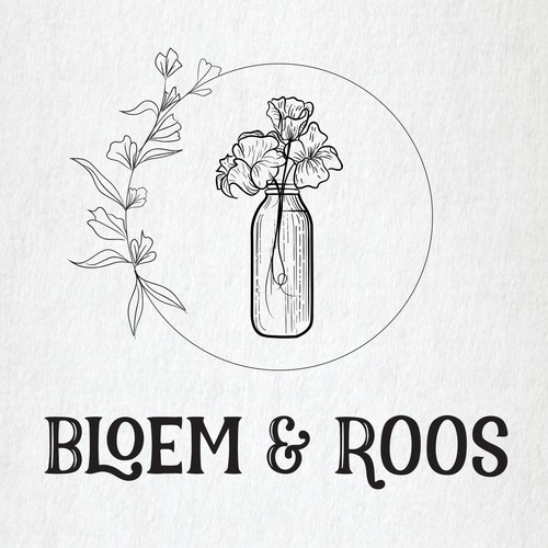 Bloom logo with the title 'Bloem & Roos'