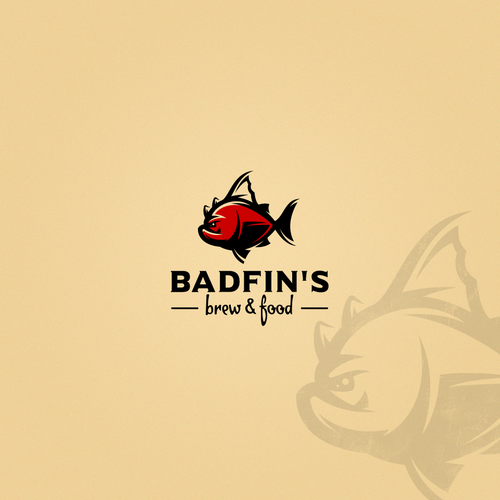 Angler logo with the title 'BADFIN'S'
