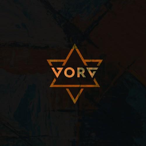 Sacred design with the title 'VORG Logo Design'