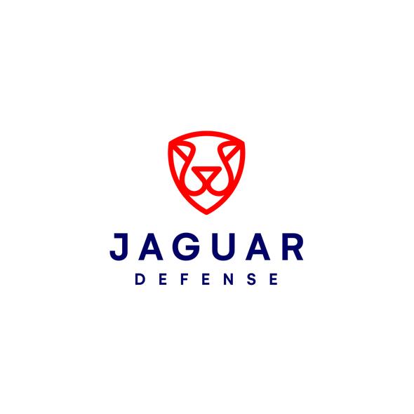 Jaguar design with the title 'jaguar + shield'