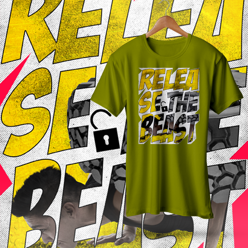 Intense design with the title 'Release The Beast!'