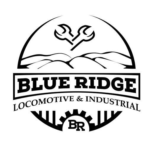 Building logo with the title 'Classic logo for Locomotive Maintenance Co'