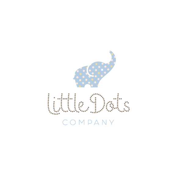Dot design with the title 'Little Dots Company'
